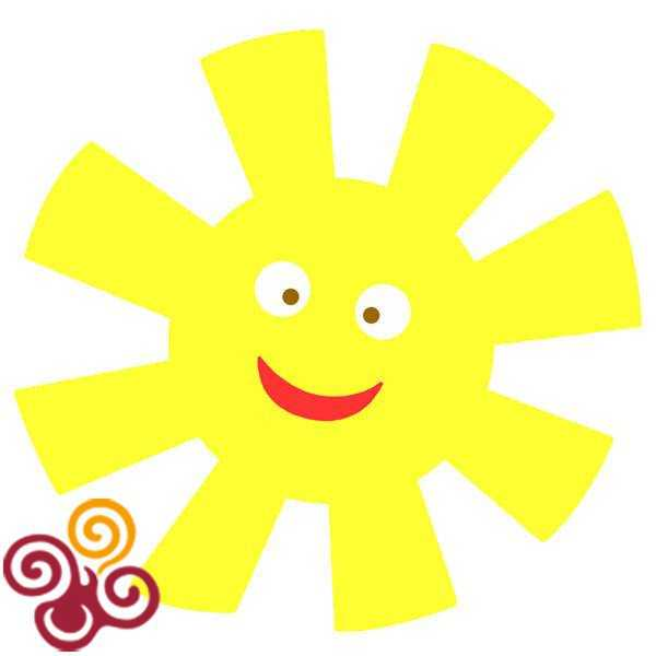 Картинки формы солнца